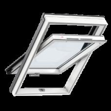Мансардные окна Velux Optima белый пластик