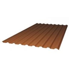 Профилированный цветной поликарбонат  0,8 мм 2м.х1,15м(2,3м2)