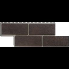 Фасадные панели Панель камень Неаполитанский (коричневый)