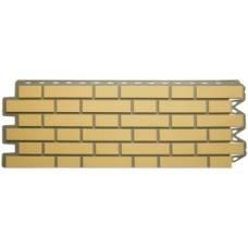 Панель кирпич клинкерный (жёлтый)