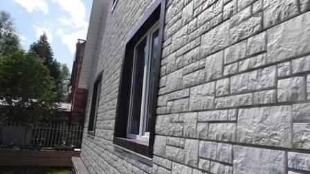 отделка дома фасадными панелями в Красноперекопске