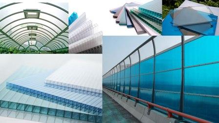 использование поликарбоната для крытого бассейна