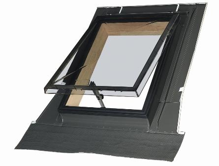 конструкция мансардного окна fakro