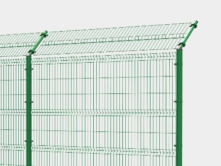 сетчатый забор - секция