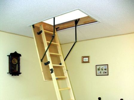 выдвижная чердачная лестница