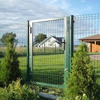 сетчатый забор в Первомайском