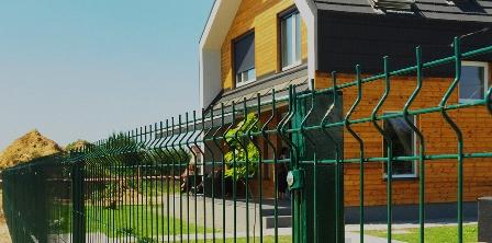 3D забор в Ярком Поле
