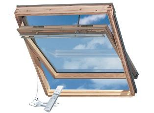 мансардное окно Velux с дистанционным управлением