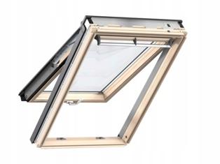 деревянное мансардное окно Velux
