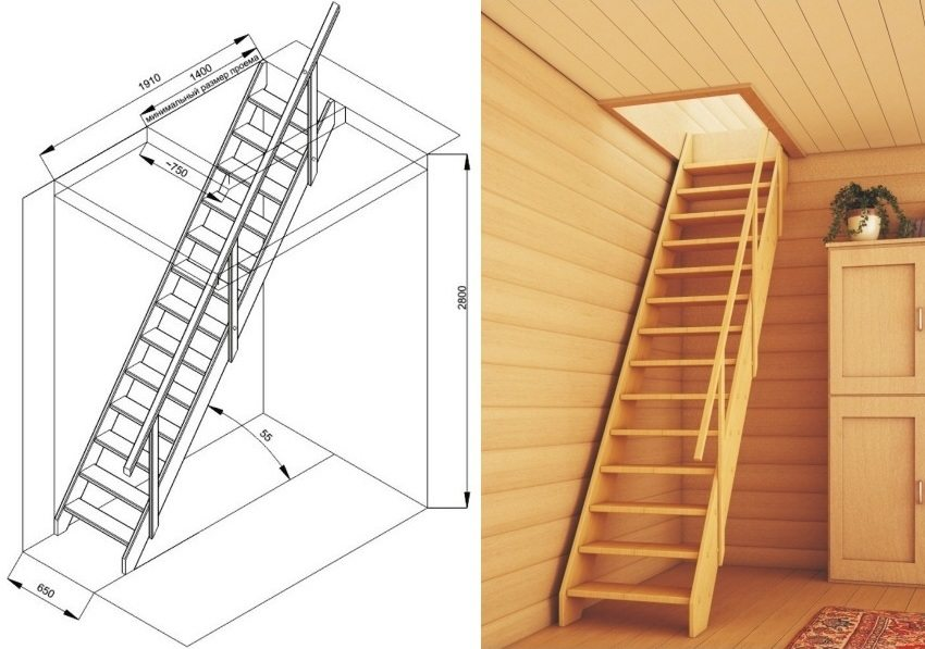 Чердачные лестницы по низким ценам Ялте можно купить в компании «Завод кровельных материалов»