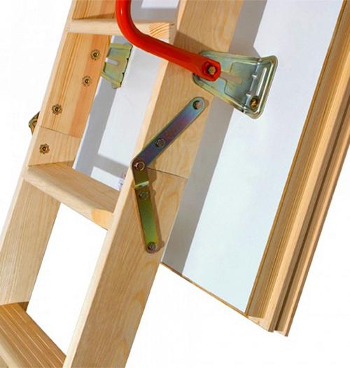 Чердачные лестницы по низким ценам в Ялте можно купить в компании «Завод кровельных материалов»