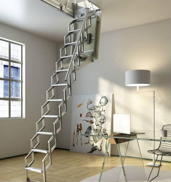 Заказать чердачные лестницы недорого в Керчи предлагает компания «Завод кровельных материалов»