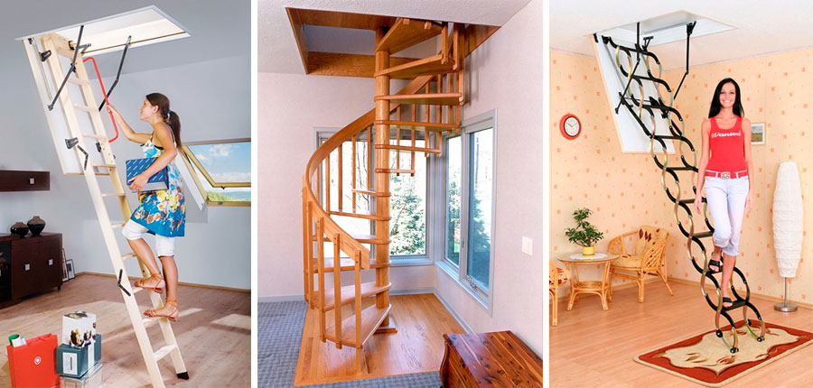 Качественные чердачные лестницы различной конструкции в Джанкое предлагает купить компания «Завод кровельных материалов»