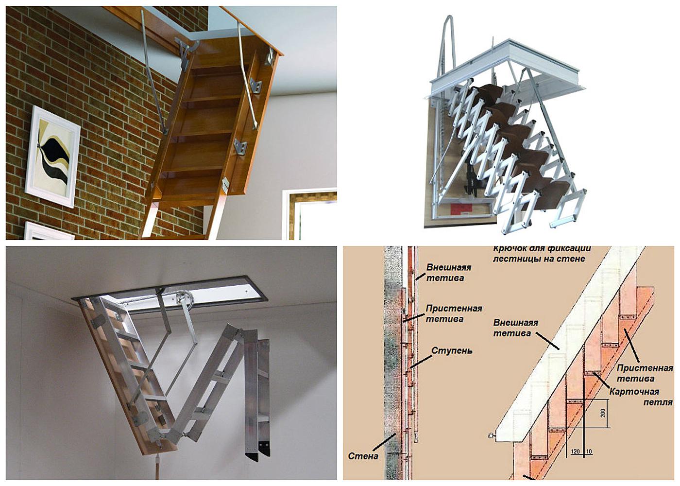 Заказать чердачные лестницы по выгодным ценам в Феодосии предлагает компания «Завод кровельных материалов»