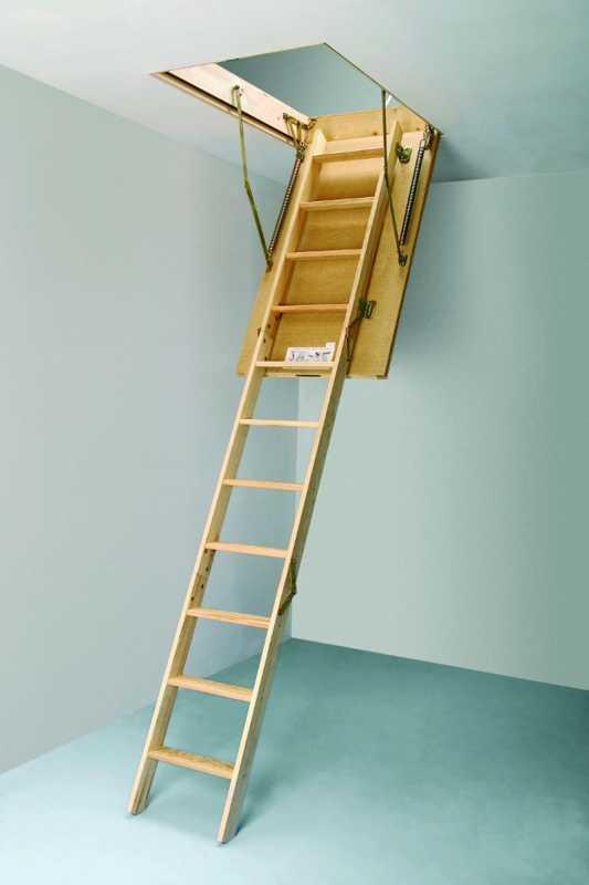 Купить качественные чердачные лестницы выгодно предлагает в Симферополе «Завод кровельных материалов»