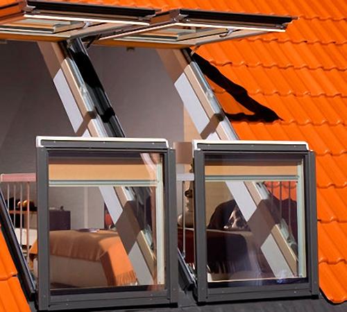 Купить недорогие мансардные окна и лестницы в Крыму предлагает «Завод кровельных материалов»