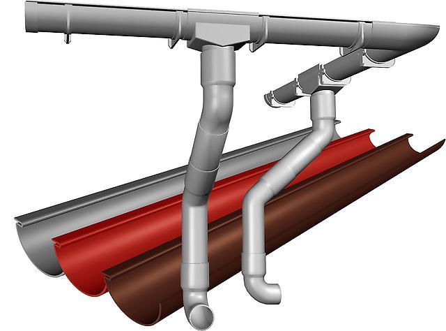 Купить качественную водосточную систему для крыши в Джанкое предлагает компания «Завод кровельных материалов»