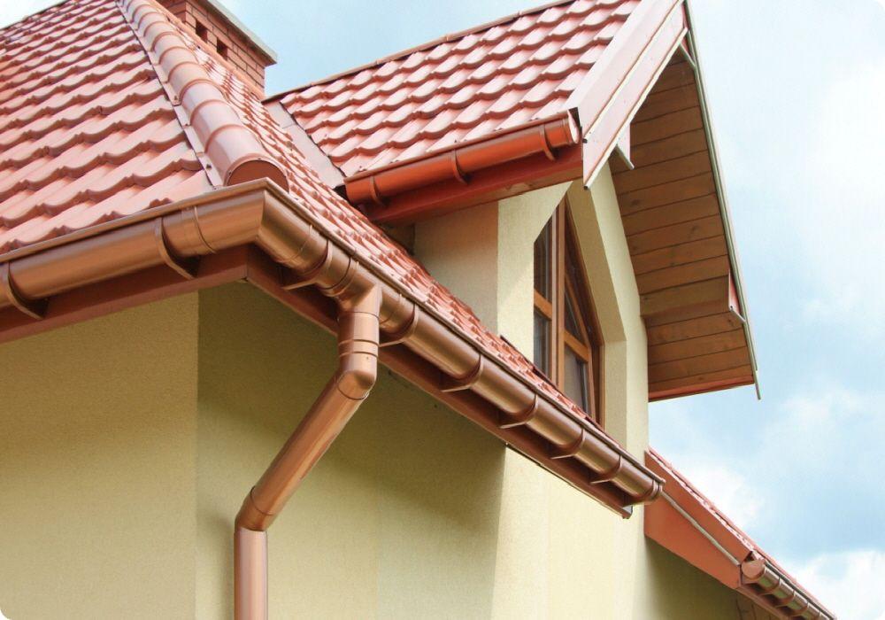 Качественные водосточные системы для крыши в Керчи предлагает купить компания «Завод кровельных материалов»