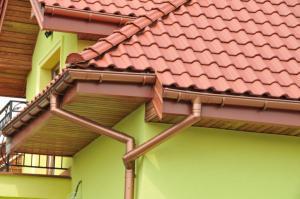 водосточные системы - монтаж в частном доме